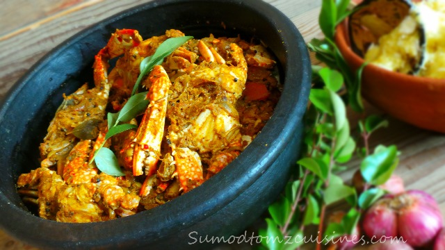 KERALA CRAB ROAST