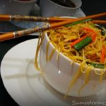 Chinese mixed noodles (chow mein)