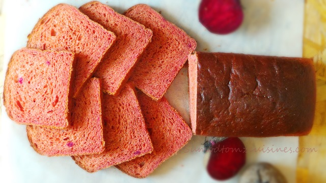 Beetroot Bread Loaf